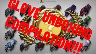 CS:GO - Glove Unboxing Compilation [S1 E1]