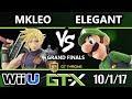 GTX 2017 Smash 4 BSD Elegant Luigi Vs FOX MVG MKLeo Cloud Wii U G Finals mp3