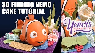 3D Nemo Cake Tutorial | Yeners Cake Tips with Serdar Yener from Yeners Way