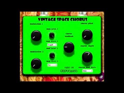 Vintage Space Chorus VST Demo by Softrave