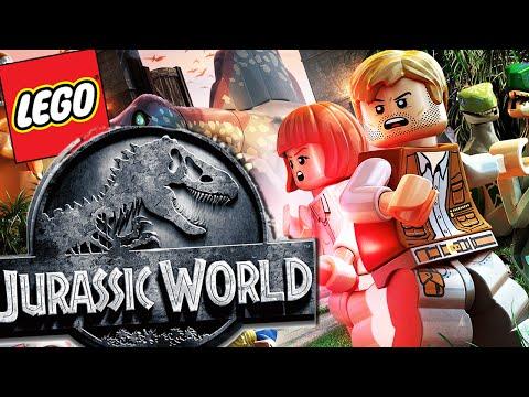 Lego Jurassic World   CREATING MY OWN DINOSAURS!!