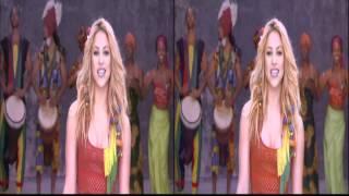 download lagu Shakira - Waka Waka Live 3d   Stereoscopic gratis