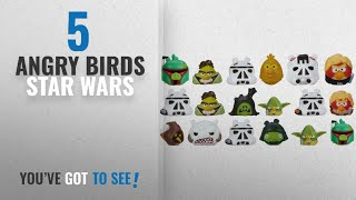Top 10 Angry Birds Star Wars [2018]: Star Wars Angry Birds Series 2 Bundle of 5 Mystery Packs with