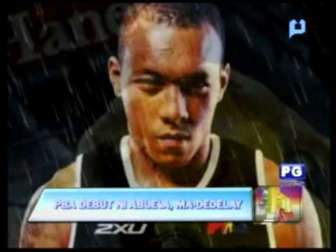 PTV Sports - PBA debut ni Abueva, ma-dedelay