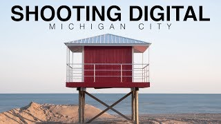 Shooting digital in Michigan City, Indiana | Landscape photography
