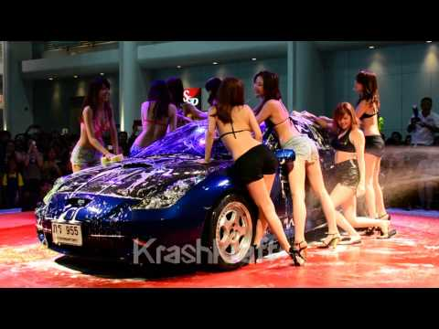 Sexy Car Wash – Bangkok International Auto Salon