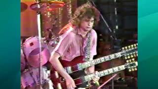LIVE AID July 13, 1985 Led Zeppelin & Dick Clark on KBMT-TV