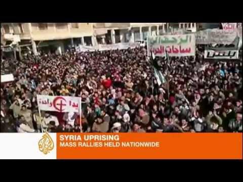 Activists hold mass rallies across Syria