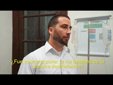 ACLS Reanimación Cardiopulmonar, simulación de un caso