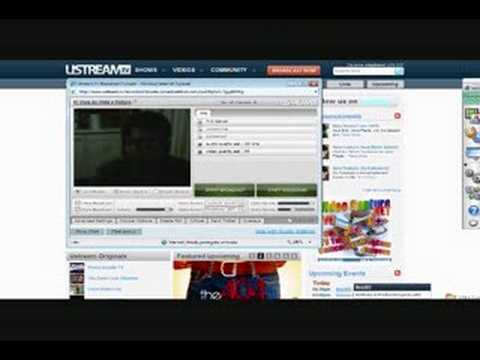Tutorial uso del Ustream - Parte 1 / How to use Ustream? Part One