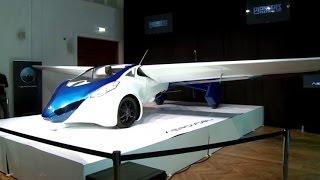 تحليق تجريبي لأول سيارة طائرة بالعالم
