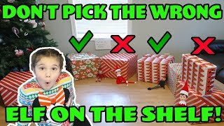 Don't Pick The Wrong Elf On The Shelf Mystery Box Challenge! The Doll Maker Was Watching Me