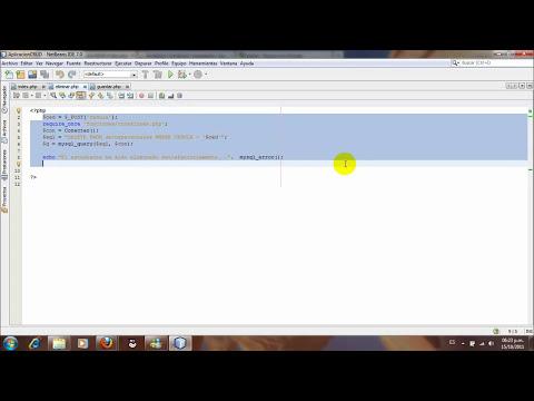 Videotutorial Aplicación CRUD - PHP, JQuery, Ajax y MySQL - Completo