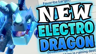 ELECTRO DRAGON IS HERE! *NEW* CLASH OF CLANS TROOP! - TH12 UPDATE