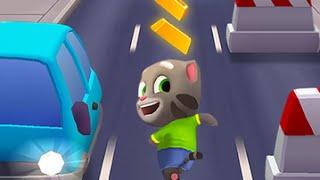 Talking Tom Gold Run Part 1 - top app videos for kids