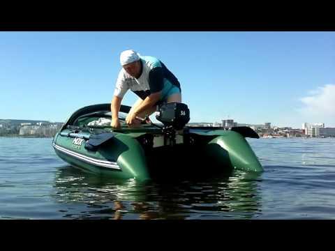 видео лодок пвх hdx с мотором