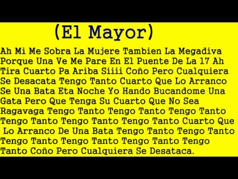 El Mayor Ft. Musicologo Dinero Facil LETRAS Y MUSICA 2014