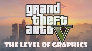 Grand Theft Auto V PC The level of graphics in rainy weather