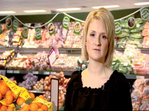 Healthy food shopping after a heart attack