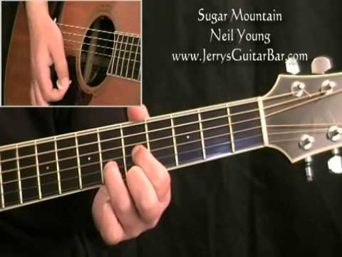 How To Play Neil Young Sugar Mountain (full lesson)