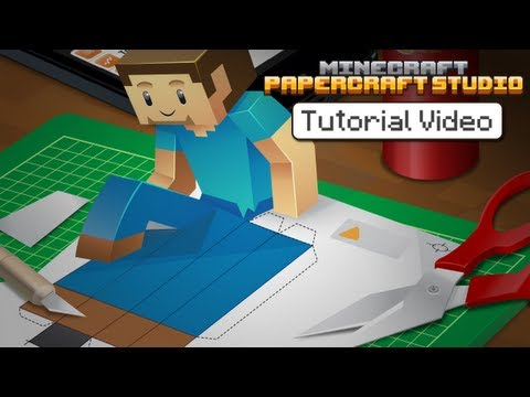 Tutorial Minecraft Papercraft Studio