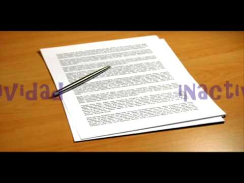 Disposición final de los documentos