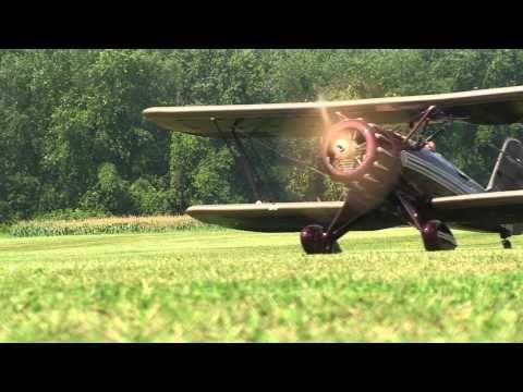 Giant Scale WACO YMF-5 RC Plane