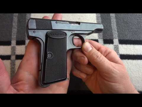 Browning Model 1955 / FN Model 1910 Plaid Review