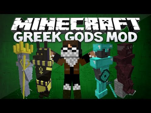 Minecraft: Household Gods mod - 16 GODS WITH DIFFERENT ABILITIES! (Minecraft 1.4.7 mod showcase)