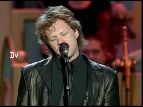 Jon Bon Jovi & Pavarotti - Let It Rain video