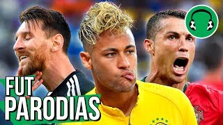 ♫ BRASIL EMPACOU, CR7 brilhou e Messi pipocou   Paródia Locked Out Of Heaven - Bruno Mars