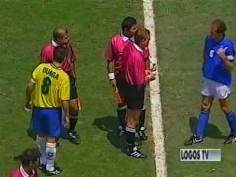 Franco Baresi vs Brazil - World Cup Usa '94 - Commento di Bruno Pizzul
