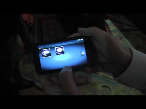 Motorola Droid Bionic Walkthrough -- CES 2011