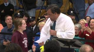Abigail To Governor Christie: Don't Be A Follower, Be A Leader