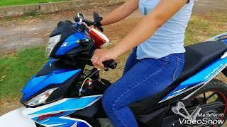 Tập em gái chạy xe côn tay |Ngố Nguyễn