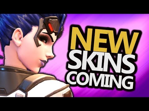 NEW! Widowmaker, Junkrat, Mercy, McCree SKINS COMING - Summer Games 2017 (Overwatch News)