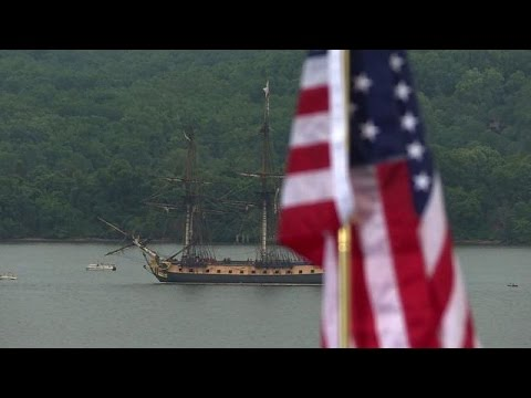 Ceremony marks General Lafayette's arrival in the US