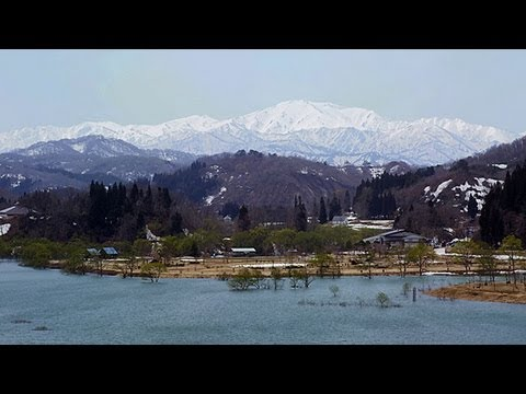 新緑の白川ダム Verdurous Shirakawa Dam ( Shot on RED EPIC )