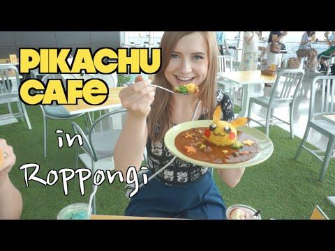PIKACHU CAFE in Roppongi, Japan ☆ ピカチュウカフェ可愛過ぎてやばい!