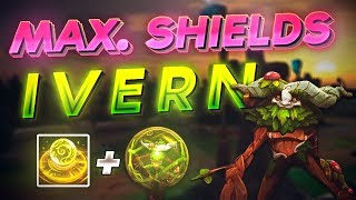 IVERN GAMEPLAY! MAX SHIELDS AP IVERN JUNGLE HARD CARRIES TEAMMATES! (League of Legends)