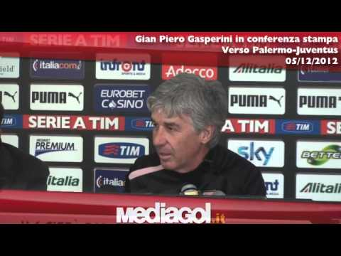 Conferenza Gian Piero Gasperini verso Palermo-Juventus - 05/12/2012 - Mediagol.it
