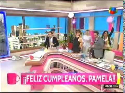 La sorpresa que emocionó a Pamela David en su cumpleaños