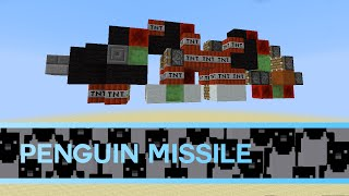 Minecraft 1.10: Working Slimestone Penguin Missile