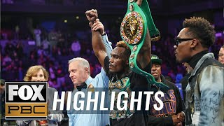 Charlo vs. Harrison II: Charlo avenges loss, now 2-time champ | HIGHLIGHTS | PBC ON FOX