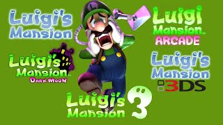 Luigi's Mansion- All Trailers (2001-2019)