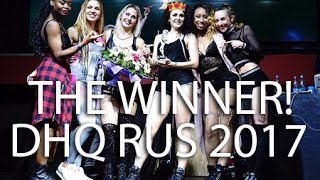 The winner of Dancehall Queen Russia 2017