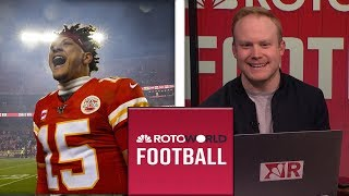 Divisional Round weekend reactions | Rotoworld Football Podcast | NBC Sports