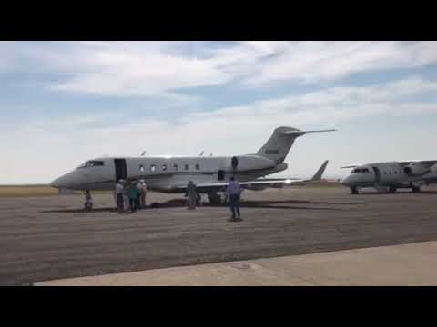 A trip around the Riverton regional airport during the 2017 solar eclipse.