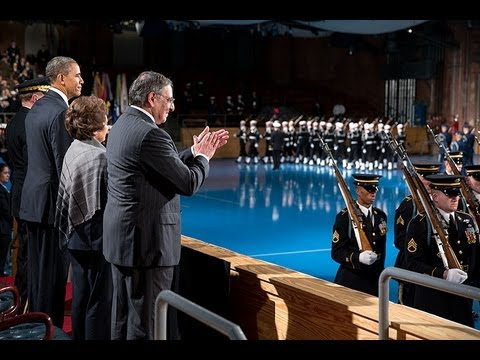 Armed Forces Farewell Tribute in Honor of Secretary of Defense Leon Panetta