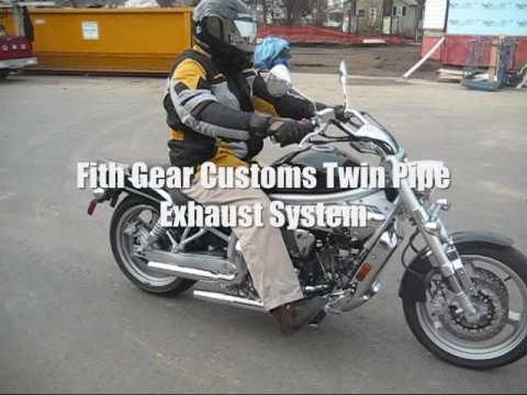 Fith Gear Customs Twin Pipe Exhaust System - CBXMAN Video
